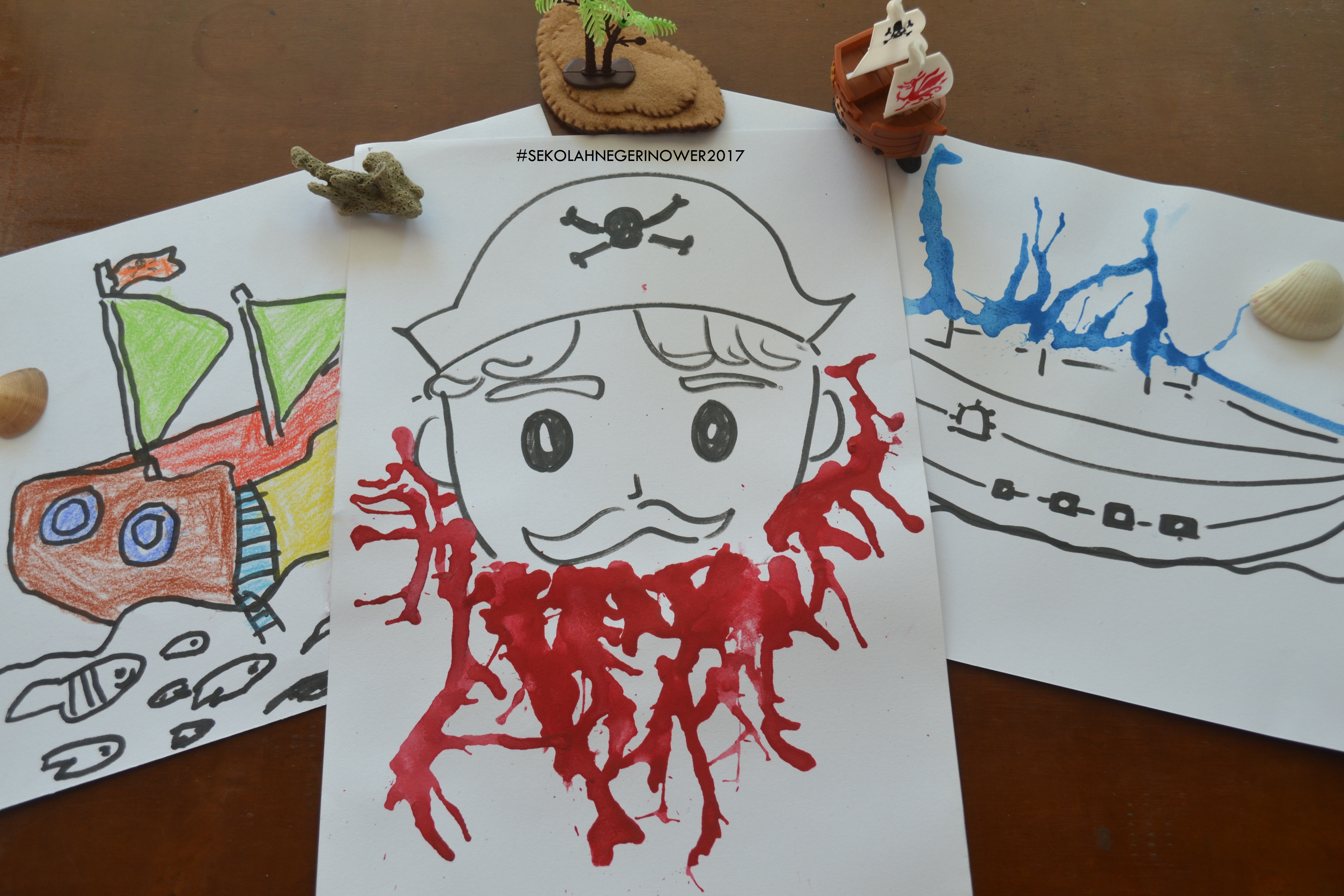 Pirate- Process Art (2) EDIT