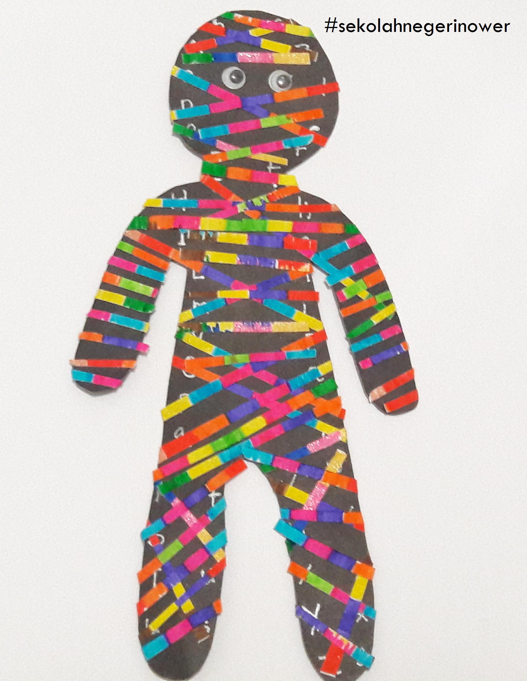 rainbow mummy