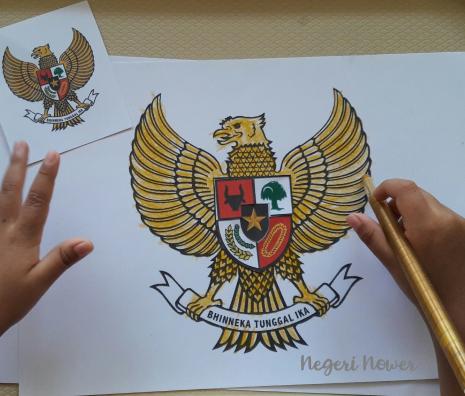 Merah Putih Indonesia Negeri Nower