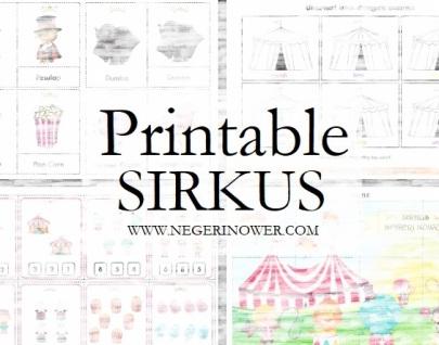 SIRKUS PRINTABLE